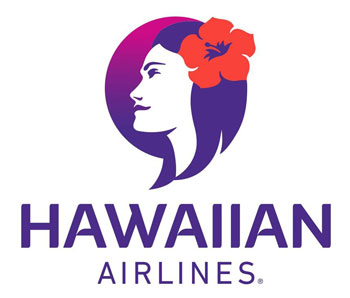 Hawaiian Airlines logo and link