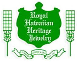 Royal Hawaiian Heritage Jewelry  logo and link