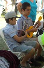 picture of ukulele students
